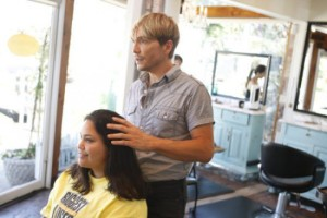 Ken Paves bringing all his talents to bear on Elizabeth for Makeover Week