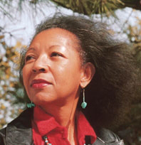 The poet Ai (1947-2010) Credit/Courtesy of Oklahoma State University