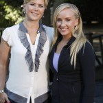 Host Alison Sweeney and guest Nastia Liukin