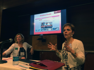 Nurses from York College talk about their collaboration with Shadow Health, a simulation program used to teach their nursing students how to interact with their patients