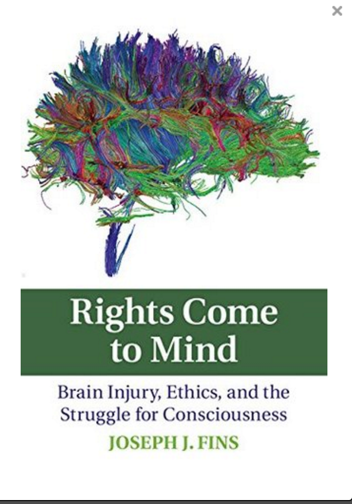 PhotoCredit: Book Cover Rights Come to Mind Joseph Fins, MD
